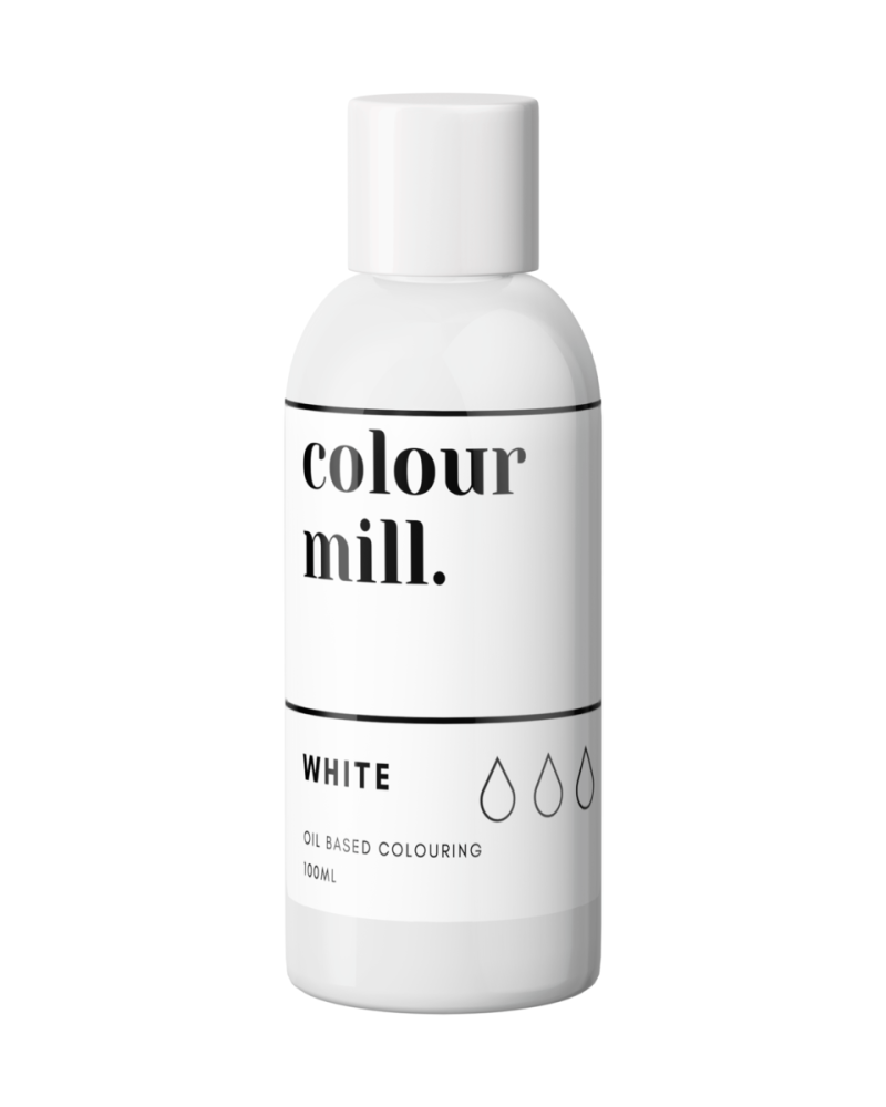 Colour Mill Oil Based Colour - WHITE 100ml