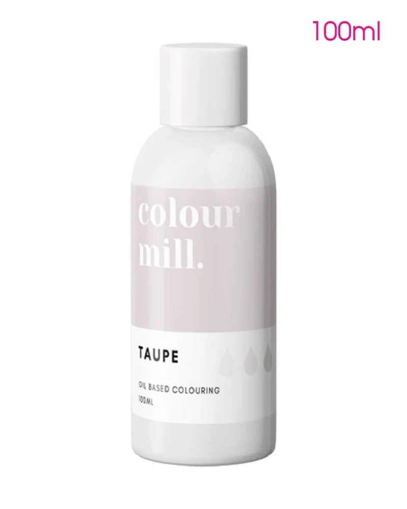 ***NEW*** Colour Mill Oil Based Colour - TAUPE 100ml