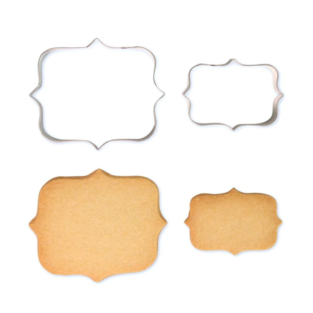 Cookie & Plaque Cutter (Set of 2) - Style 1