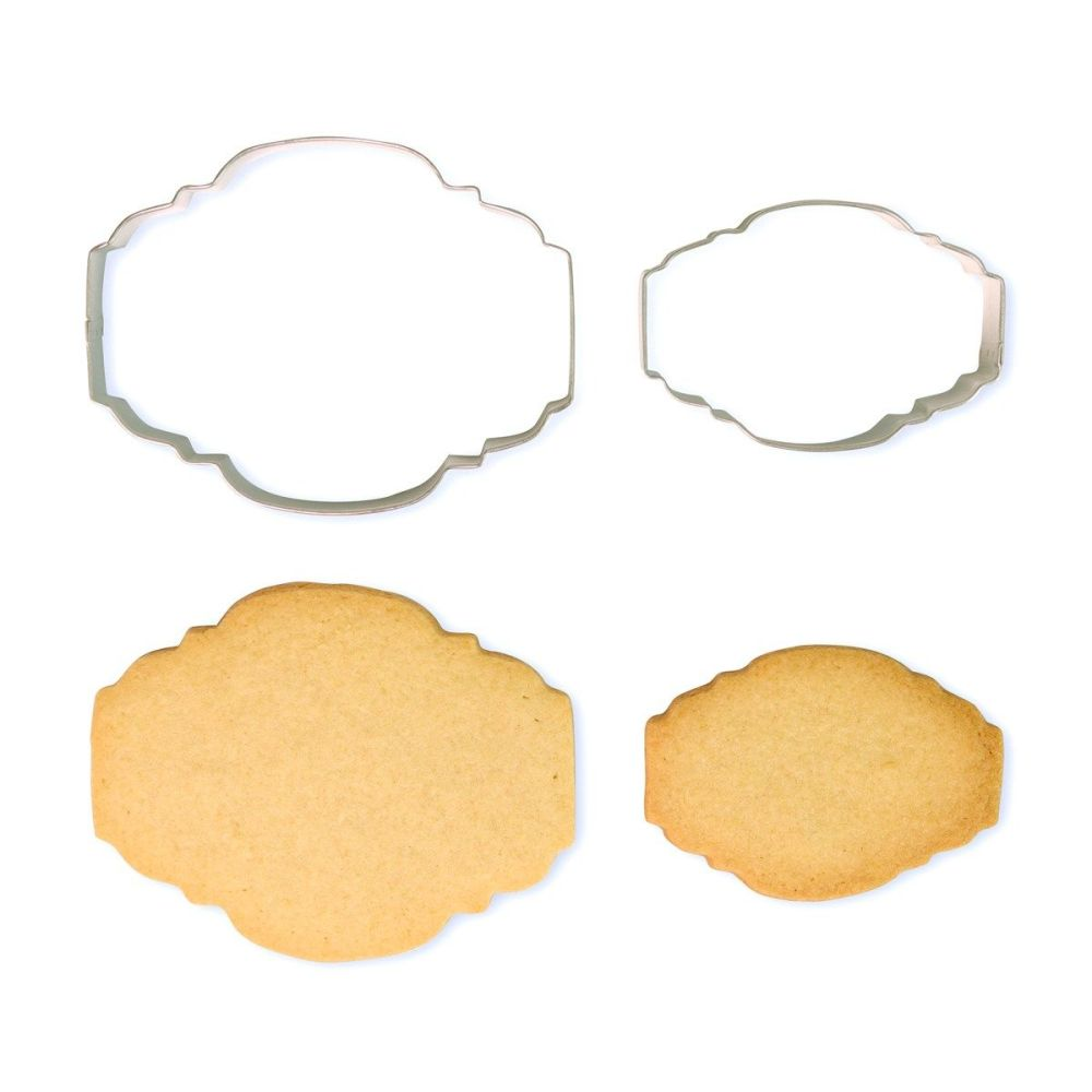 Cookie & Plaque Cutter (Set of 2) - Style 2