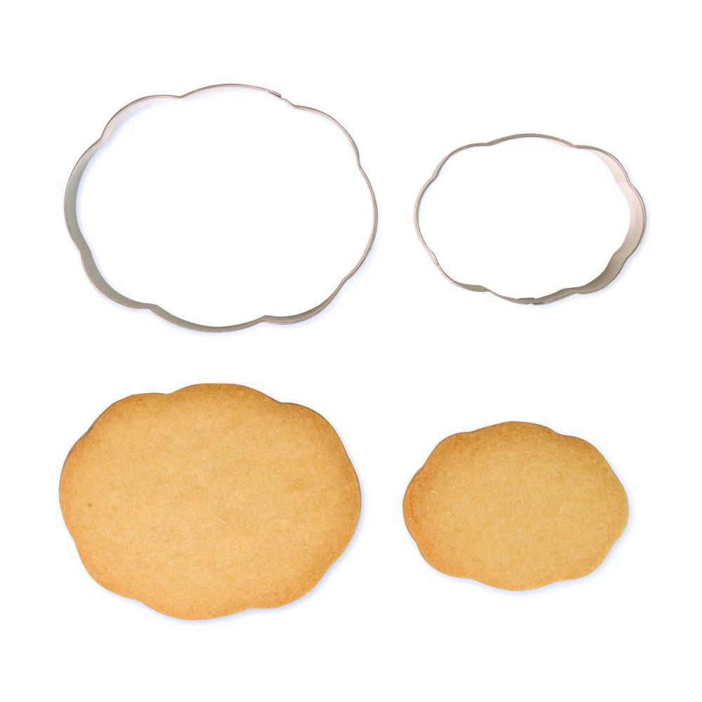 Cookie & Plaque Cutter (Set of 2) - Style 3