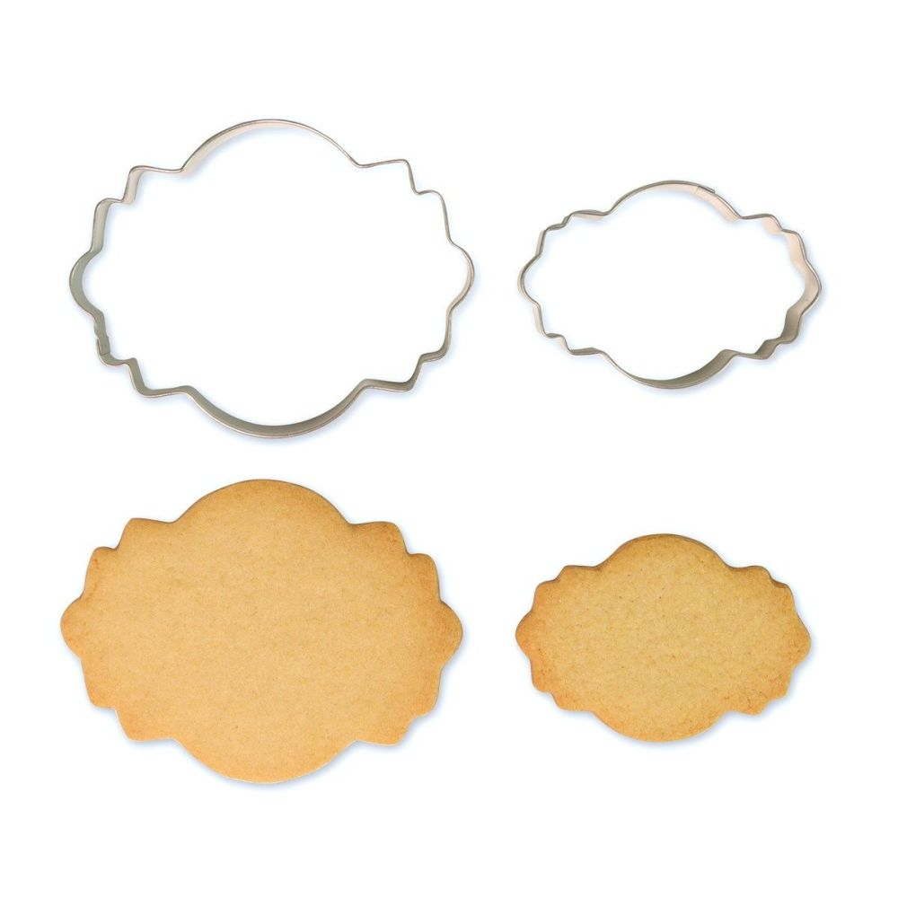 Cookie & Plaque Cutter (Set of 2) - Style 4