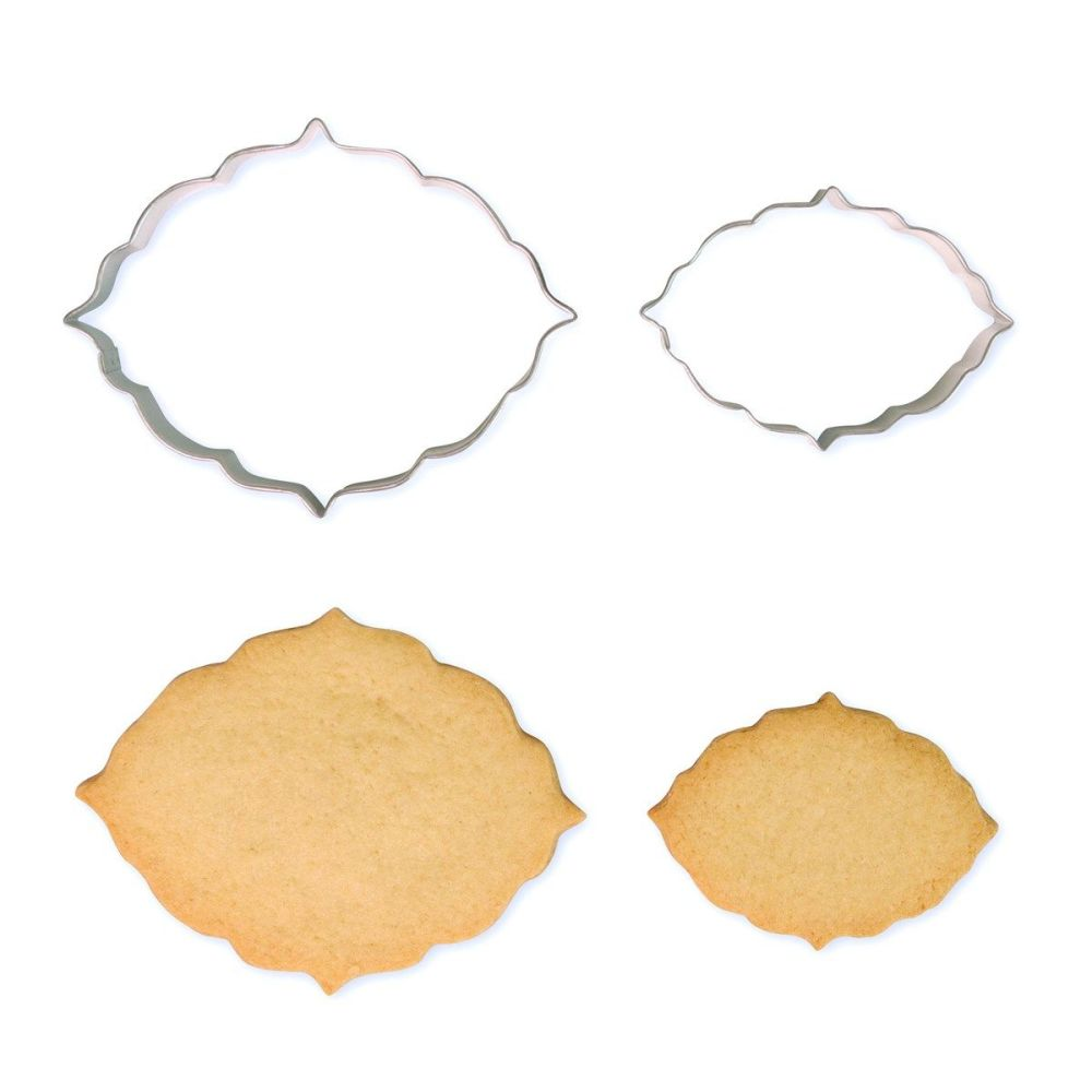Cookie & Plaque Cutter (Set of 2) - Style 6