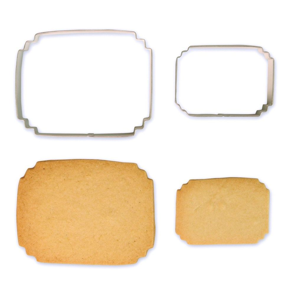Cookie & Plaque Cutter (Set of 2) - Style 7