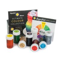 Sugarflair Ultimate Colour Paste Collection - Set of 8 Colours