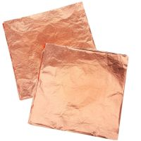 Rose Gold (Copper) Leaf Transfer Sheets 140mm 25 Leaves