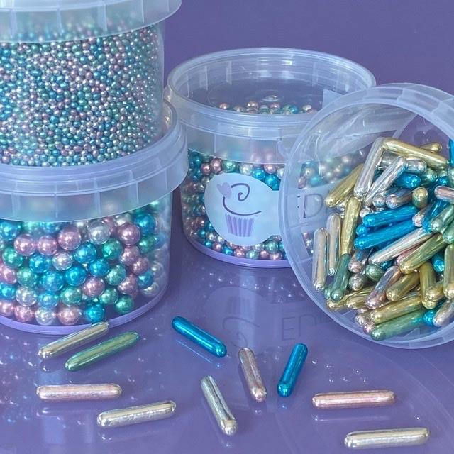 High Shine Multi Coloured Balls - Dazzle