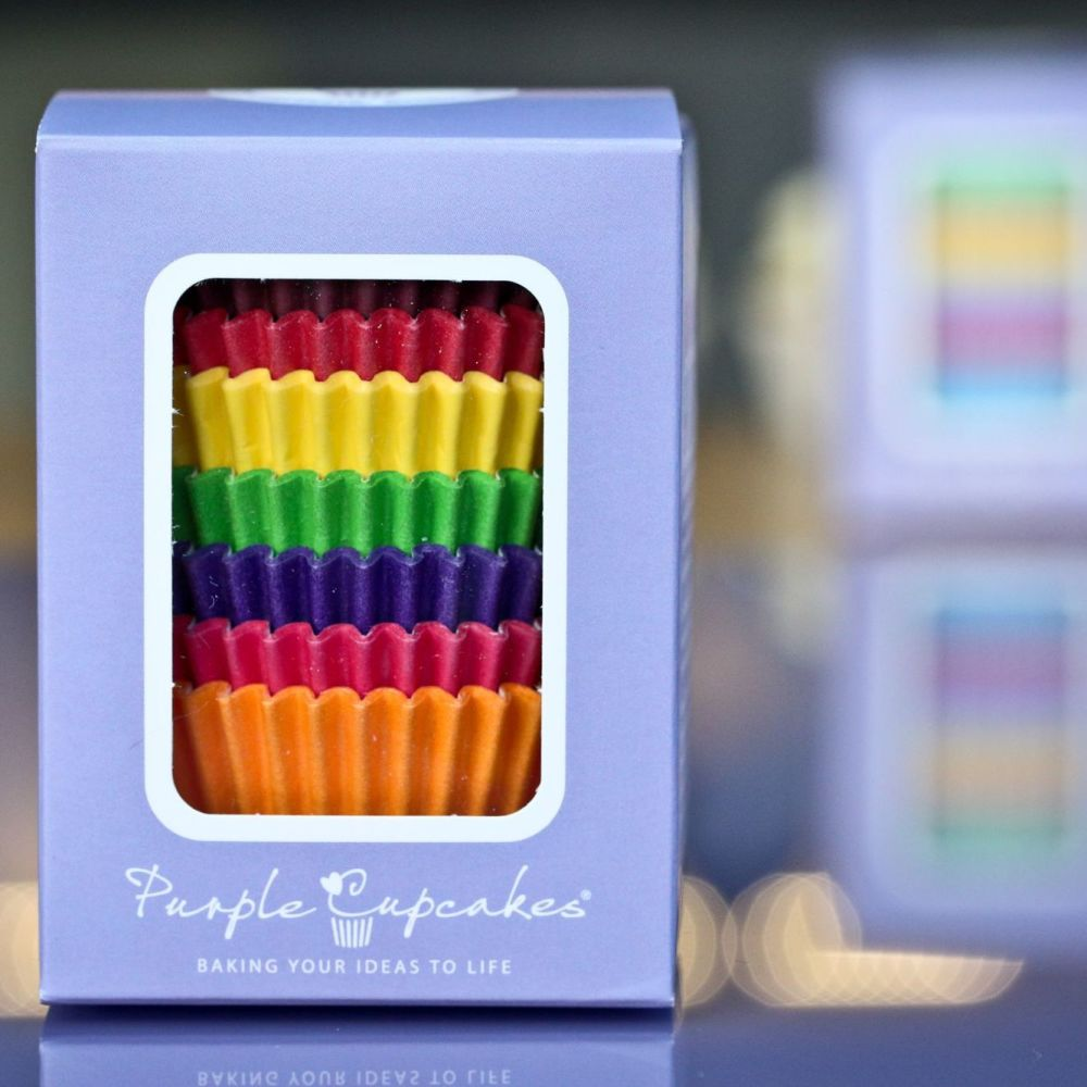 Cupcake Cases x 96 - Bright Colours