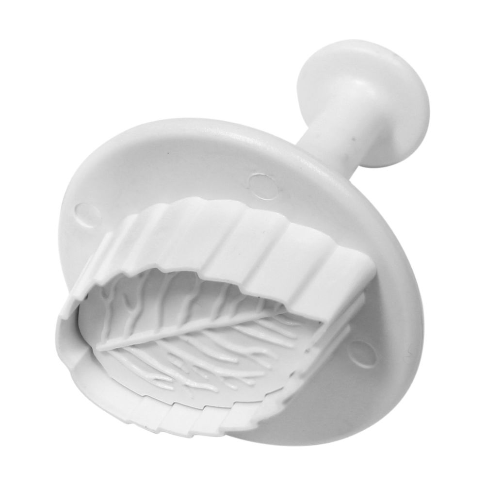 Veined Rose Leaf Small Plunger Cutter