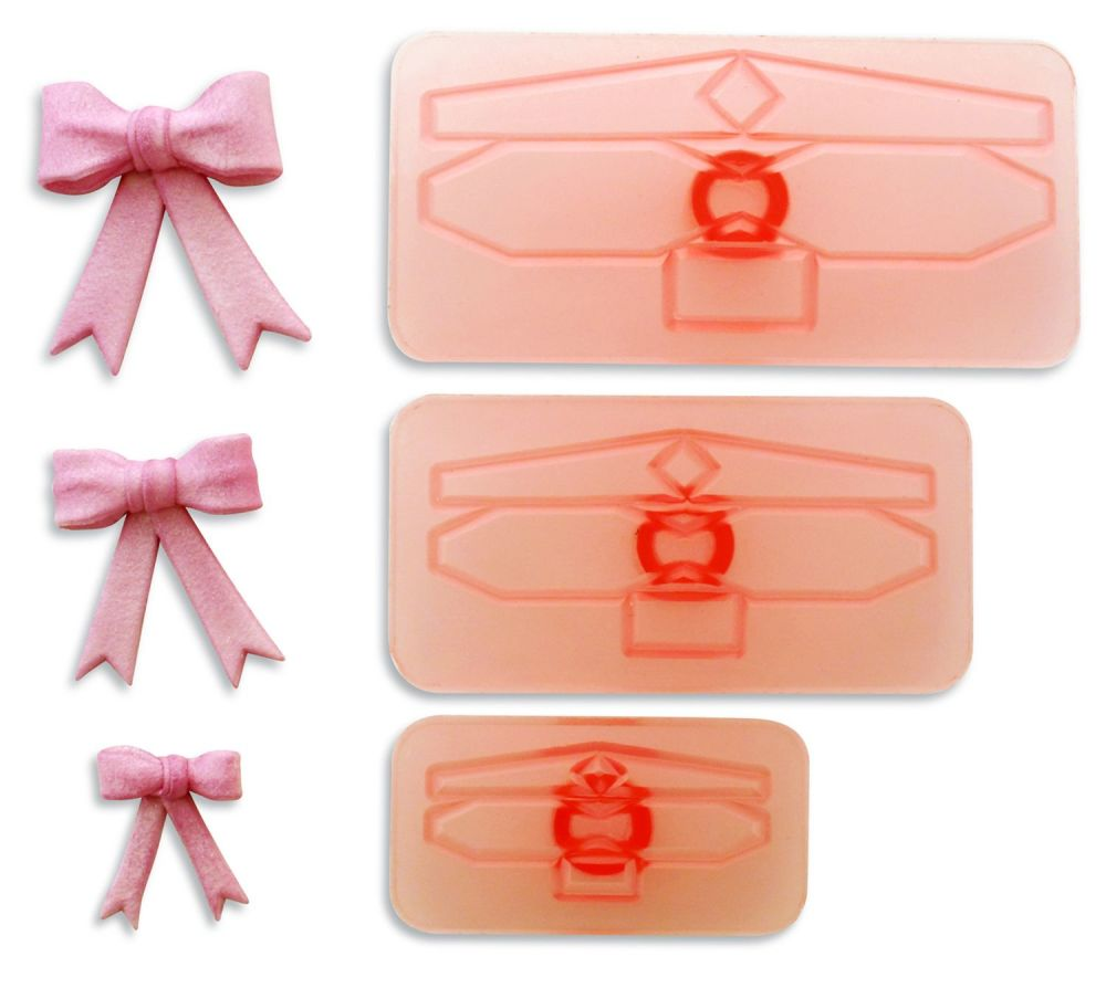 Bow Cutters x 3 SMALL set
