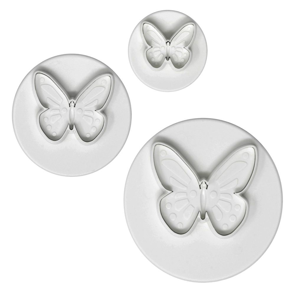 PME Pretty Butterfly Plunger Cutter Set - 3 Cutters SML, MED & LRG