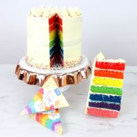 PME Rainbow Cake - Food Colour Kit (7 x 10g colours) with Recipe Card