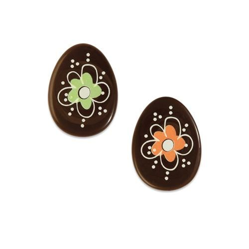Dark Chocolate Easter Eggs Assorted Colours (Pack of 10)
