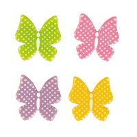 White Chocolate Pretty Butterflies Pack of 8