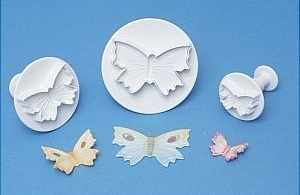 Butterfly Cutter Set x 3