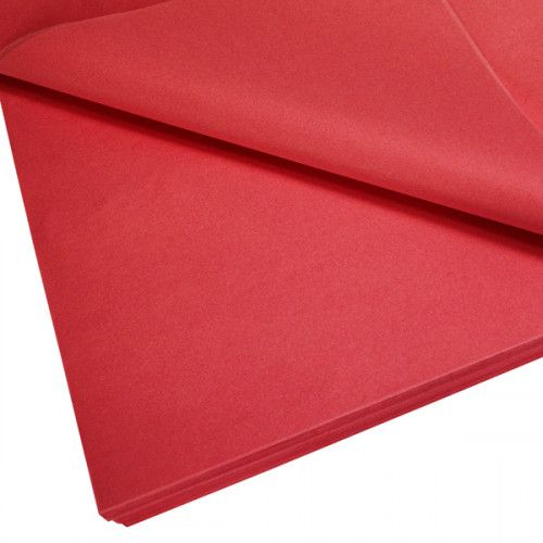 Bouquet Box Accessory - Tissue Paper Pack - Red