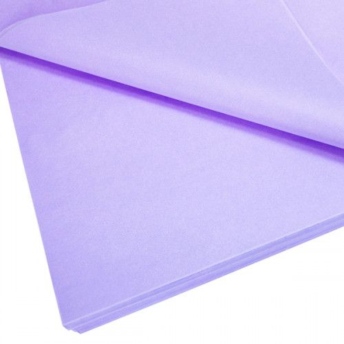 Cupcake Bouquet Box Accessory - Tissue Paper Pack - Lilac