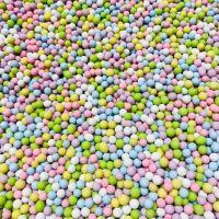 Large Sugar Pearls 6mm - Sorbet 70g