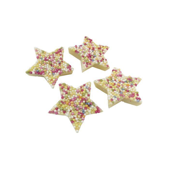 Sweet Treats - White Chocolate Snowie Stars Jazzies