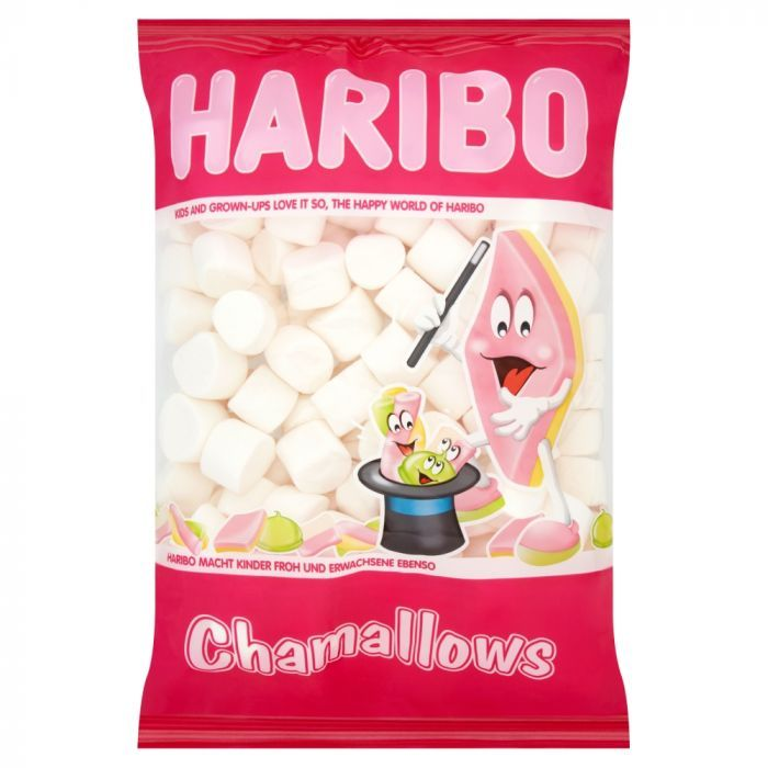 Sweet Treats - Haribo Chamallows Marshmallow Bag 1kg