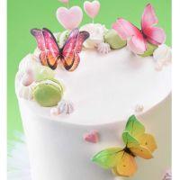 Wafer Butterflies (Pack of 12)