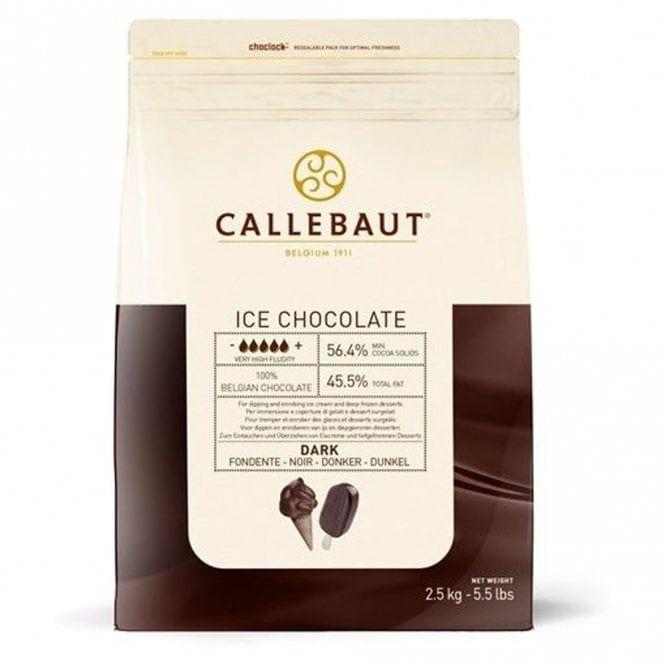 Callebaut ICE Chocolate - Dark 2.5kg