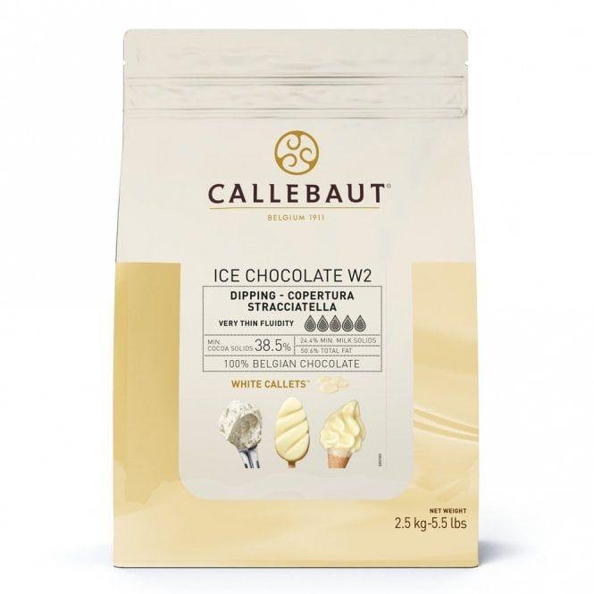 Callebaut ICE Chocolate - White 2.5kg