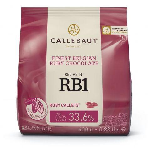 Callebaut Ruby Chocolate 400g