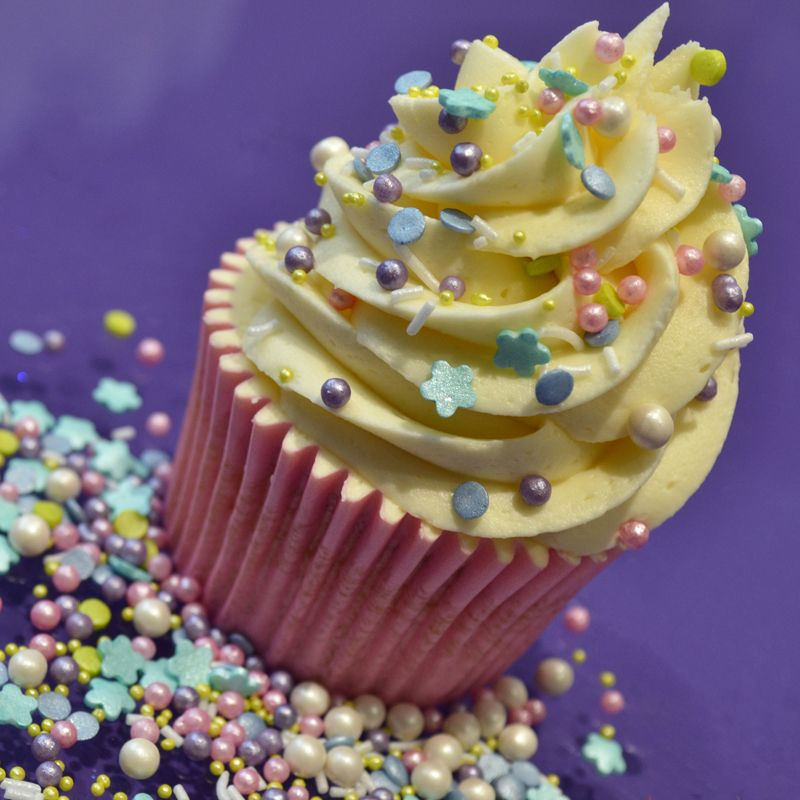 Purple Cupcakes Edibles Sprinkle Mix - Mermaid 100g