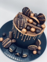 Confectioners Cake Drip 100g by Dinkydoodle - Metallic BRONZE