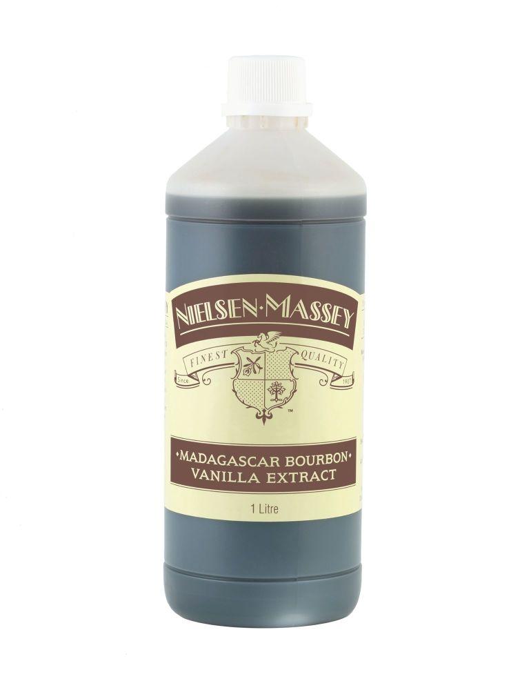 Nielsen-Massey Bourbon Madagascan Vanilla Extract 1 Litre Bottle
