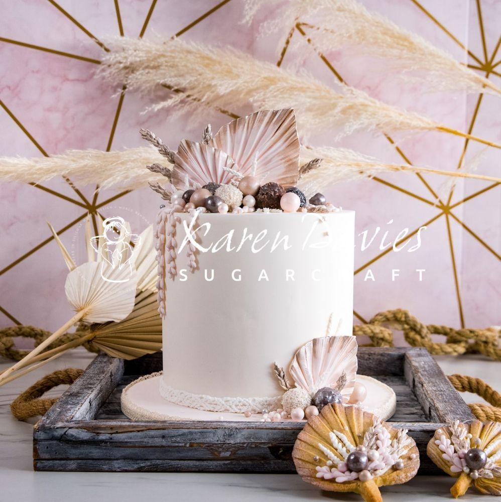 Karen Davies Sugarcraft Mould - Palm Spear
