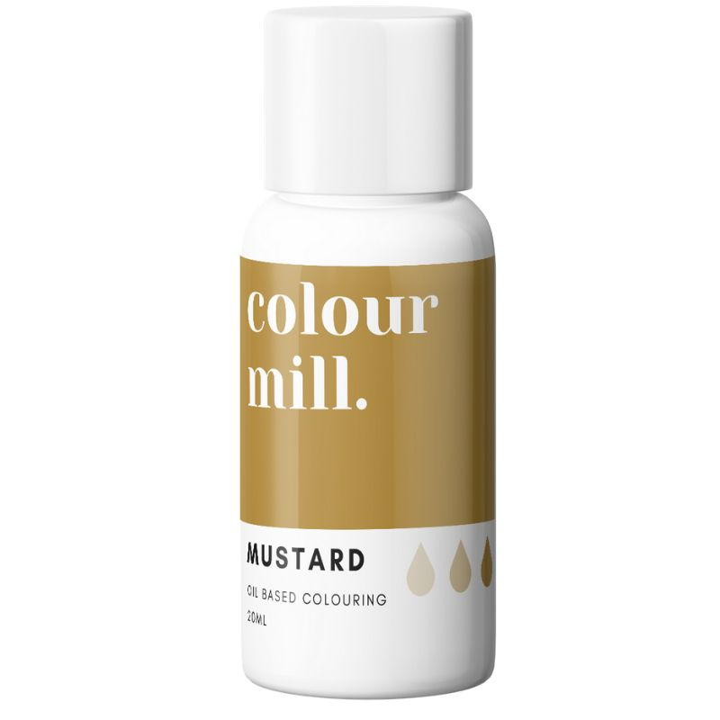 Colour Mill Oil Based Colour - MUSTARD 20ml
