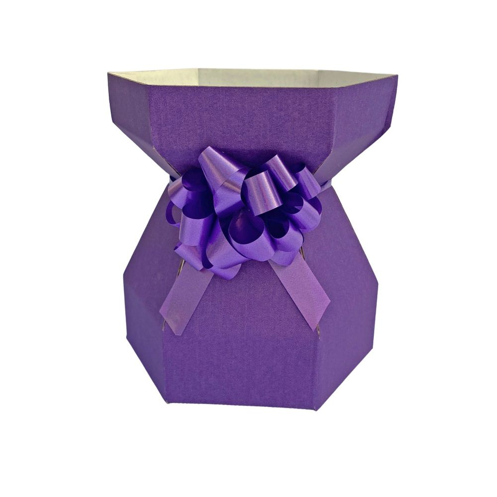 Cupcake Bouquet Box - Purple Velvet