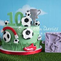 Karen Davies Sugarcraft Mould - Football