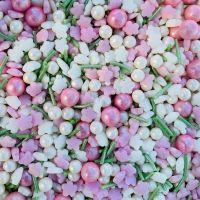Purple Cupcakes - Sprinkle Blend 90g - Shimmer FALLING BLOSSOM Mix (V)