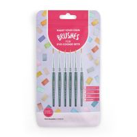 Sweet Sticks Food Grade Brushes Pack of 6 #1 for PYO Tabs