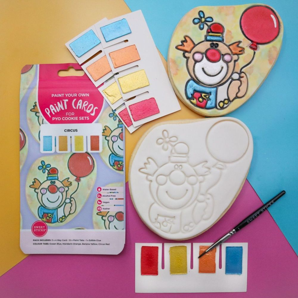 Sweet Sticks Paint Tabs for Paint Your Own - CIRCUS