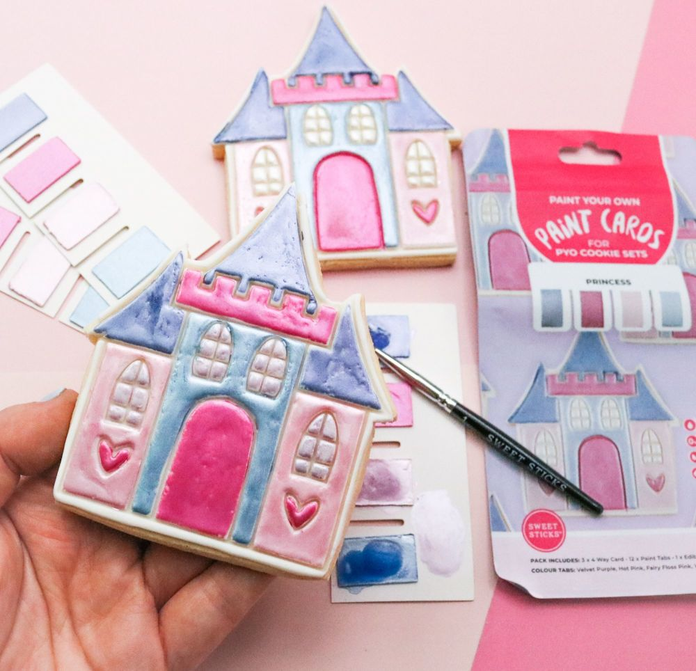 Sweet Sticks Paint Tabs for Paint Your Own - PRINCESS