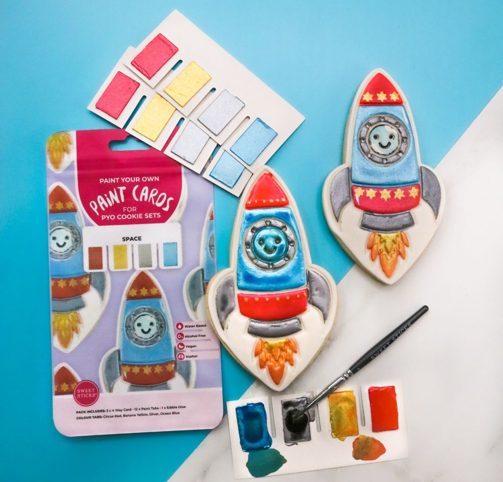 Sweet Sticks Paint Tabs for Paint Your Own - SPACE