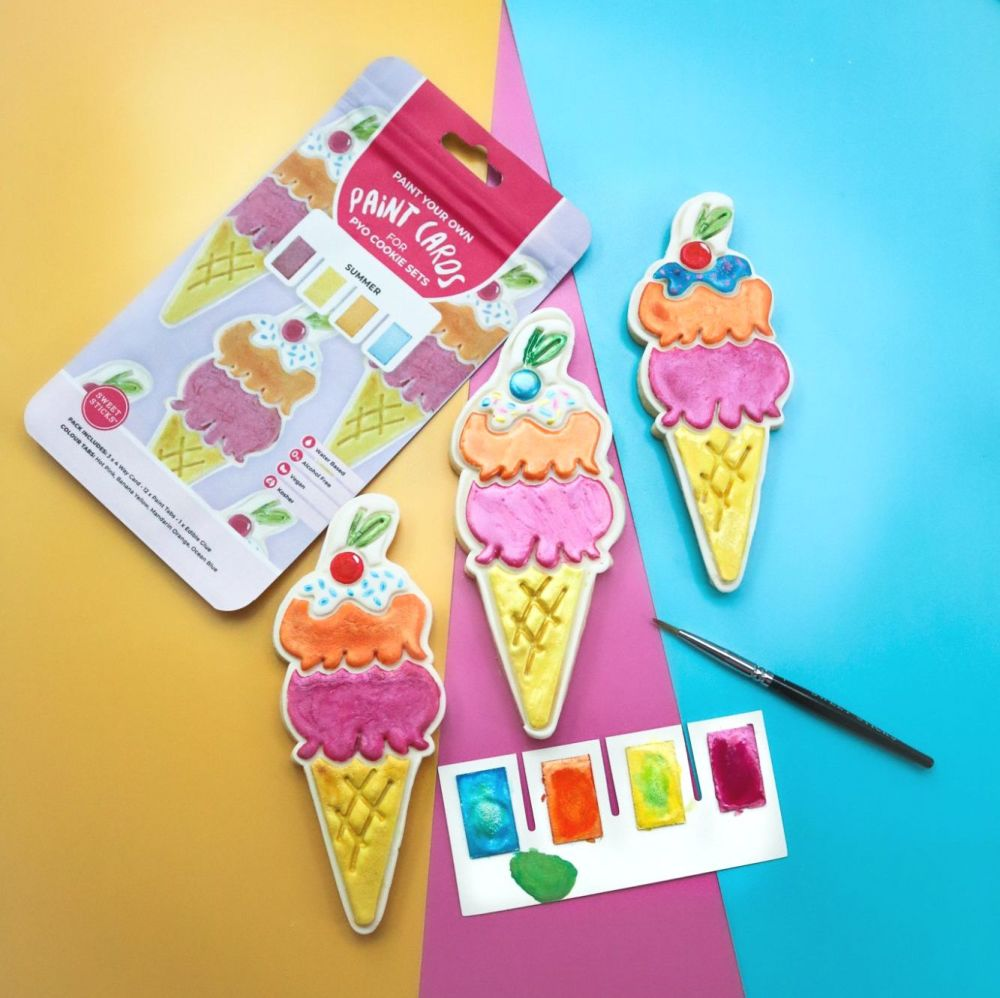 Sweet Sticks Paint Tabs for Paint Your Own - SUMMER