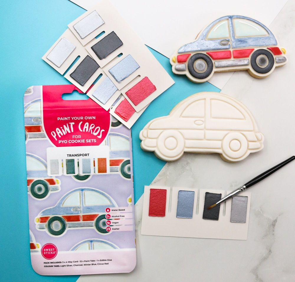 Sweet Sticks Paint Tabs for Paint Your Own - TRASNPORT