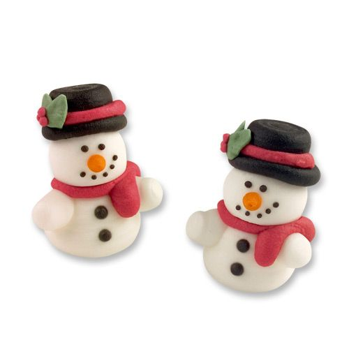Cute Sugar Snowmen (Pack of 6)