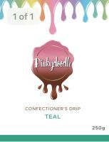 Confectioners Cake Drip 250g by Dinkydoodle - Teal - Best Before End Sep 2021