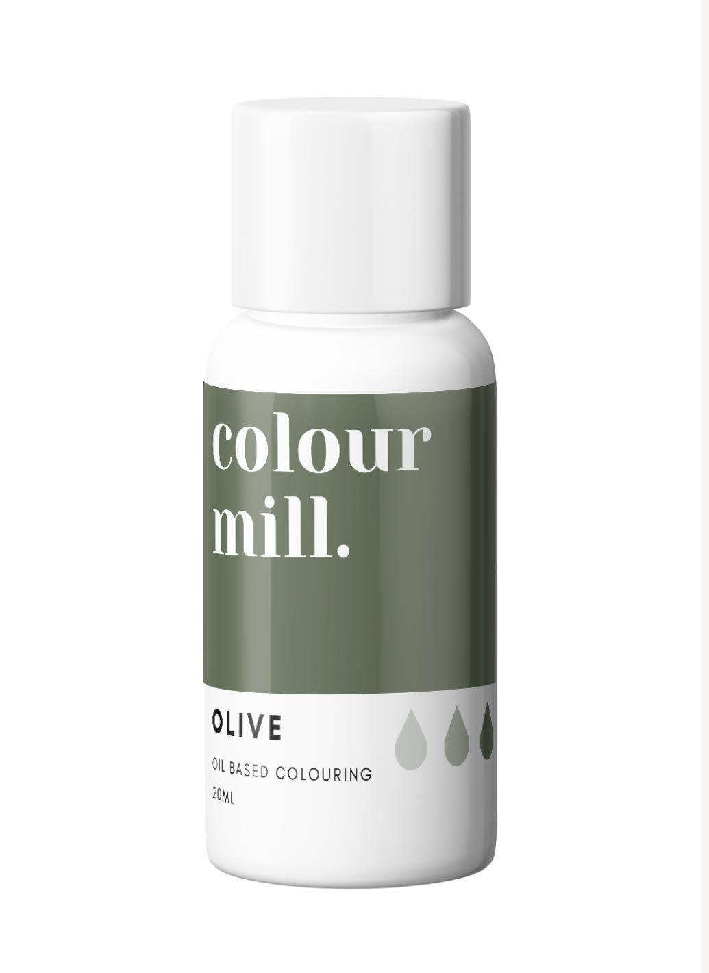Colour Mill Oil Based Colour - Olive  20ml