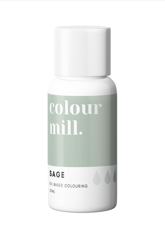 Colour Mill Oil Based Colour - Sage  20ml