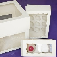 Cake and Cupcake Boxes & Clear Pods