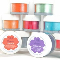 Edible Lustres, Edible Shimmers & Edible Tints