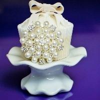 Diamante Cake and Cupcake Embellishments