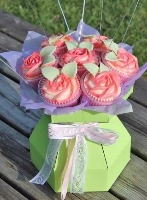 Cupcake Bouquet Boxes & Accessories